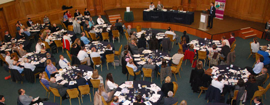Delegates at the Trust's EBVM symposium