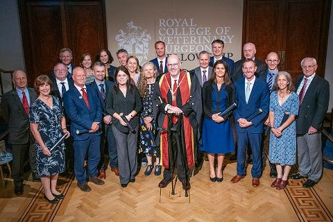 New Fellows welcomed at Fellowship Day 2019 at the Royal Institution